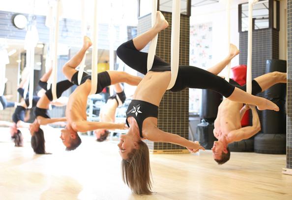 Antigravity Yoga Chandelier 594 Beauty Scenario