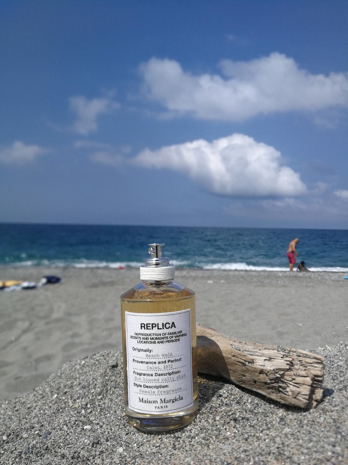 outlet store 79b09 92cf2 Beach Walk, Maison Margiela Replica: l'estate in un profumo ...